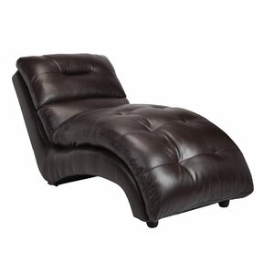 Leather Chaise Lounge by BestMasterFurniture