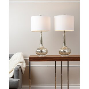 Set Of Two Lamps Wayfair
