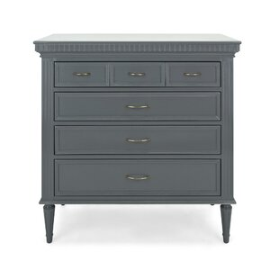 Luna Spacious Wooden 2 Drawer Accent Chest by Alcott Hill