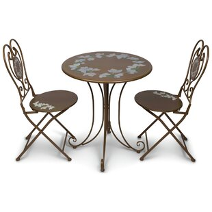 August Grove Jair 3 Piece Bistro Set
