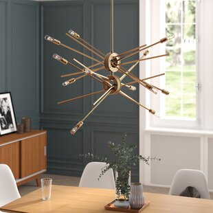 Mercury Row Graddy 12-Light Sputnik Chandelier