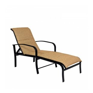 Woodard Fremont Reclining Chaise Lounge