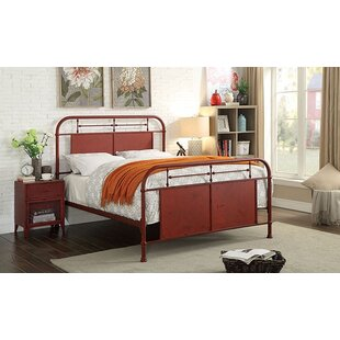 Gracie Oaks Mcwilliams Metal Panel Bed