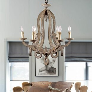 Avelina 6-Light Chandelier by Ophelia & Co.