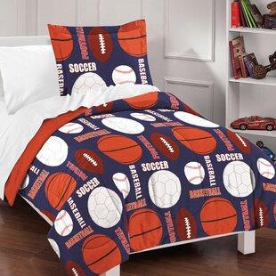 Madeleine 100% Cotton 2 Piece Reversible Comforter Set