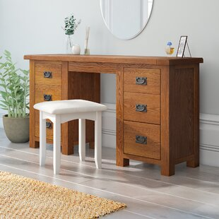 Rayleigh 6 Drawer Dressing Table By Union Rustic