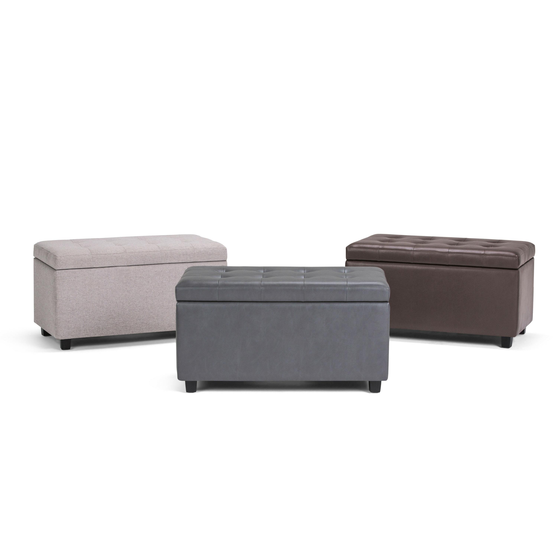 Magnificent Amador Storage Ottoman Short Links Chair Design For Home Short Linksinfo