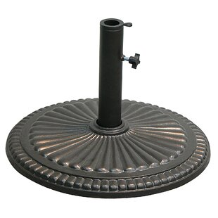 Fluted Round Umbrella Base