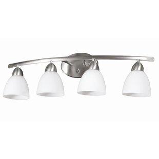 Price Check Longbow 4-Light Vanity Light By DVI
