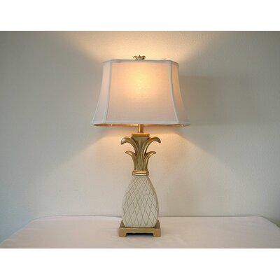 "Barlow Mediterranean 32"" Table Lamp Bay Isle Home"