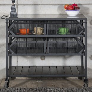 Estee Bar Cart by 17 Stories