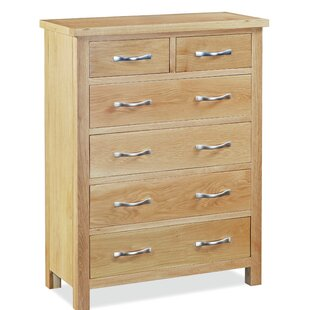 Mercy 6 Drawer Chest By Gracie Oaks