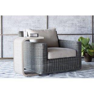 Summer Classics Rustic Swivel Patio Chair..