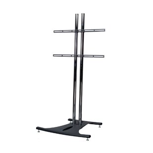 Floor Stand with 72 Dual Poles and Universal Flat Mount