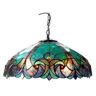 Astoria Grand Laurie 2-Light Ceiling Bowl Pendant