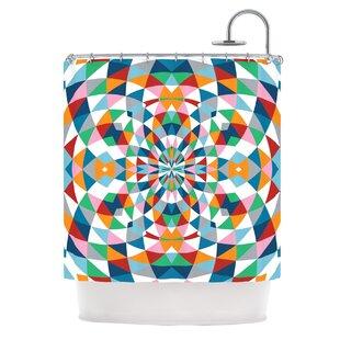 Modern Day Single Shower Curtain