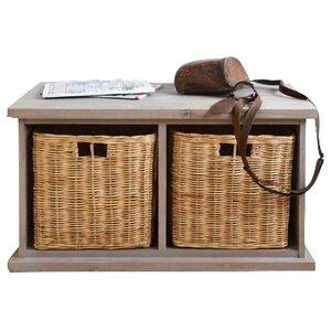 Garderobenbank mit Stauraum aus Holz von Home Etc