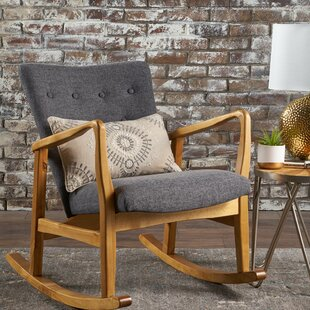 Brayden Studio Welke Rocking Chair
