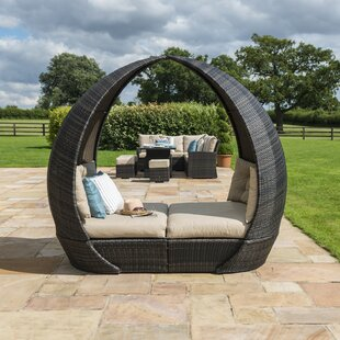 Garden Daybed With Cushions By Sol 72 Outdoor