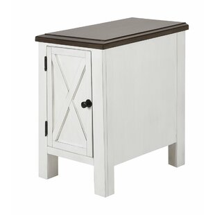 Merlino End Table with Storage by Gracie Oaks