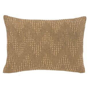 Reece Woven Cotton Lumbar Pillow