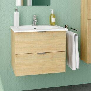 Glausen 610mm Wall Hung Single Vanity By Belfry Bathroom