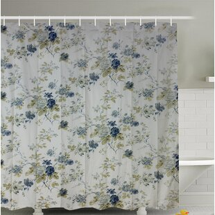 Best Reviews Forgard Roses Shower Curtain By August Grove