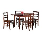 Shaws 5 Piece Extendable Dining Set by Red Barrel Studio®