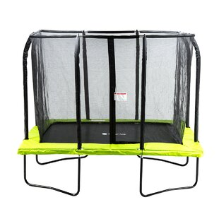 Exacme 10' Rectangle Trampoline with Safety Enclosure