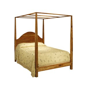 Arched Pencil Post Canopy Bed