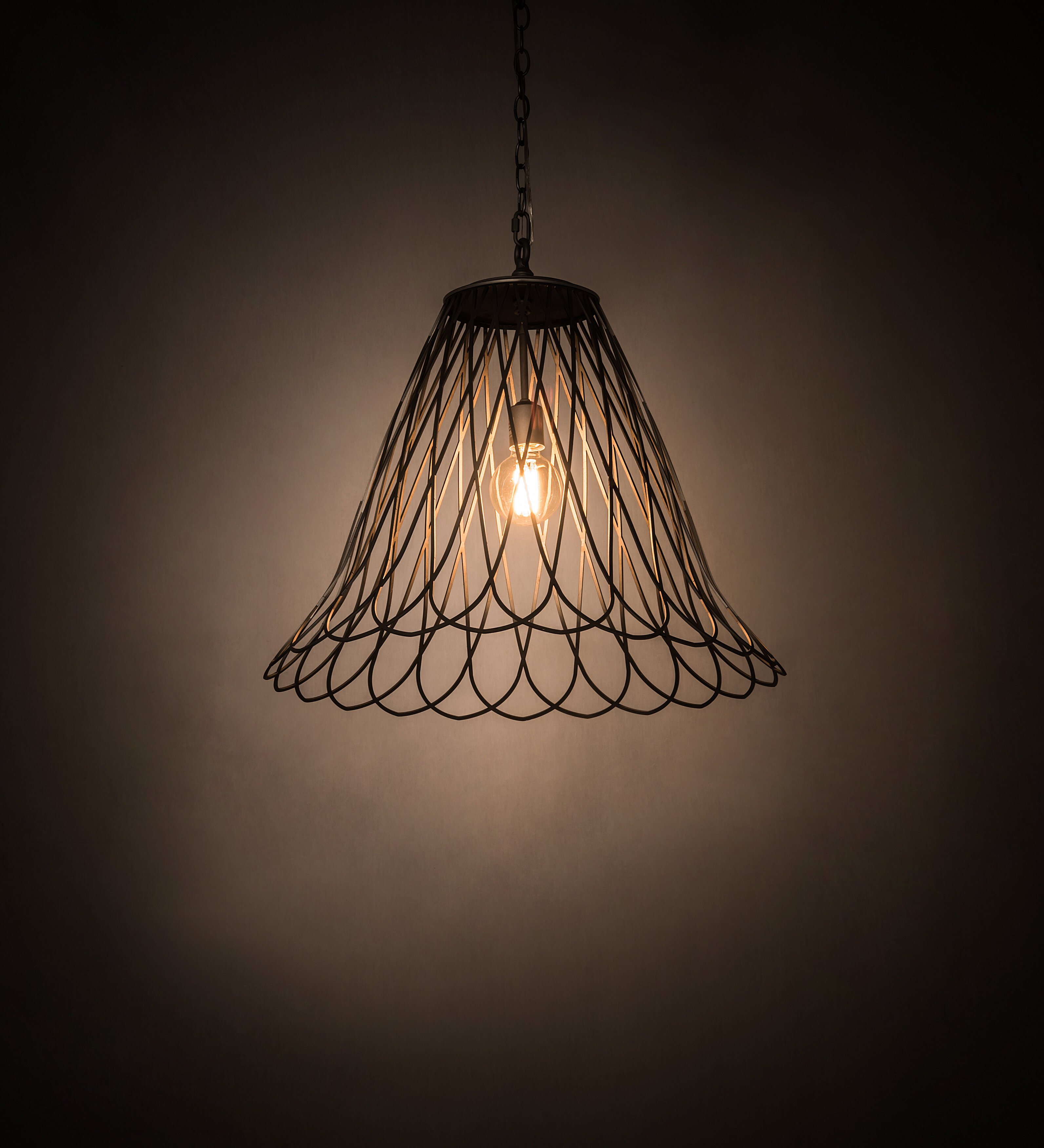 Gracie Oaks Cathcart 1 Light Single Bell Pendant Wayfair
