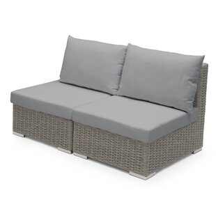 Armless Sectional Piece With Cushions By Sol 72 Outdoor