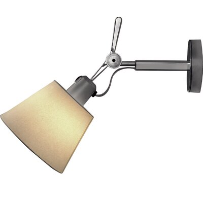 Artemide Tolomeo 7.1 Metal Empire Wall Sconce Shade Color: Parchment