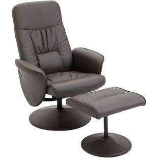 Hartsock Manual Recliner With Footstool By Ebern Designs