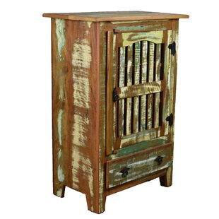 Hambrick Distressed China Cabinet by Bloomsbury Market