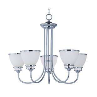 Red Barrel Studio Smyrna 5-Light Shaded Chandelier