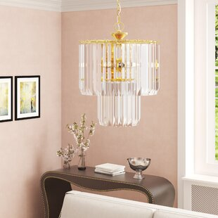 Benedetto 5-Light Crystal Chandelier by Willa Arlo Interiors
