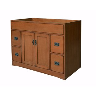 Mission Oak 48 Bathroom Vanity Base by Sunnywood