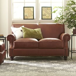 Leather Furniture You\'ll Love | Wayfair