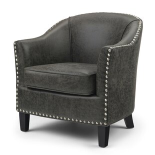 Burkart Barrel Chair by Charlton Home