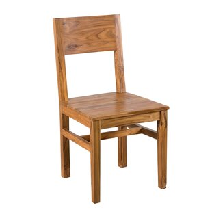 ingenious idea mid century side chair. Hagerman Solid Wood Dining Chair Indoor Teak  Wayfair