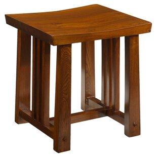 Brassfield Wood Dressing Table Stool By Rosalind Wheeler