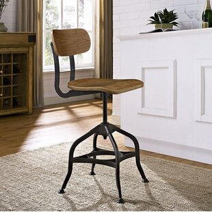 Adjustable Height Swivel Dining Stool Modway