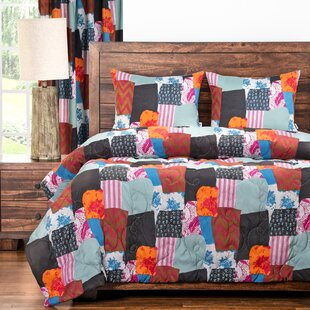 Boho 3 Piece Comforter Set by PoloGear