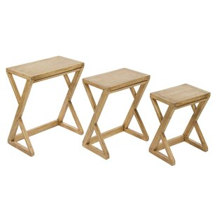 3 Piece Nest Of Tables By Gracie Oaks