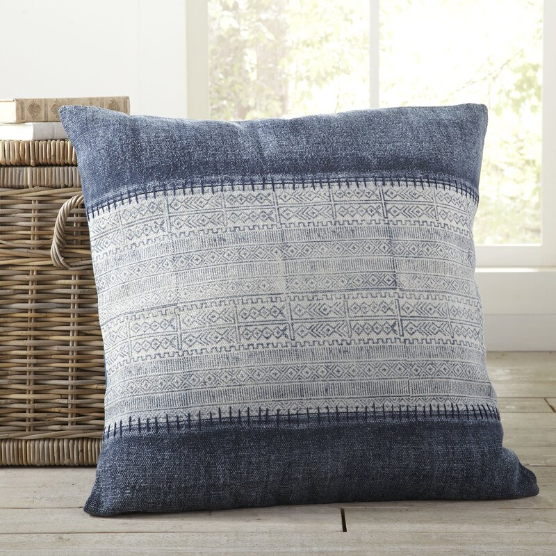 Selah Cotton Throw Pillow Cover