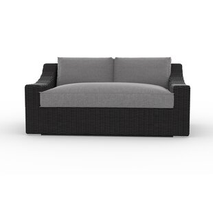 Bretton Loveseat with Cushions by Toja Patio Furniture