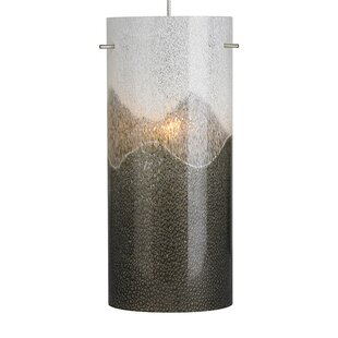 Orren Ellis 1-Light Cylinder Pendant