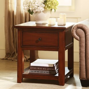 Asheville End Table with Storage