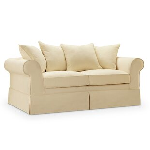 Milla Slipcover Loveseat by Hi..